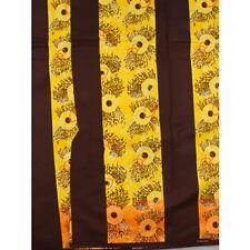 African Mod Coral Print Fabric BY 1/2 YARD Ankara style kitenge fancy wax p936