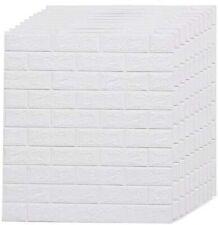 Amerlife 29 Sq.Ft 3D Wallpaper Self-Adhesive Foam Brick Wall Panels for Interior