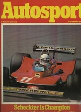 Autosport September 13th 1979 *Mondello Park F3 & Group 44*