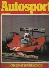 Autosport September 13th 1979 *Mondello Park F3 & Group 44*