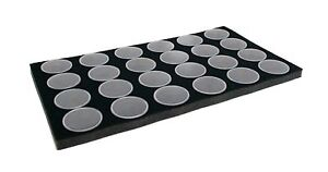 Novel Box Jewelry Gem Jar Tray Foam Tray Inserts in Various Sizes and Colors