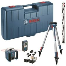 Bosch Grl400h170 Outdoor Rotating Laser Level Receiver Lr1 Gr240