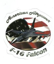 F-16 FALCON JET  AIRPLANE  Sticker Decal