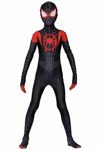 Spider-Man: Into the Spider-Verse Kids Costume Miles Morales- Halloween XS