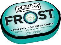 Ice Breakers Frost Mints, Wintercool 6ct 1.2 oz (Pack of 2)