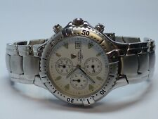 CROTON CHRONOMASTER CHRONOGRAPH MENS WATCH New Battery