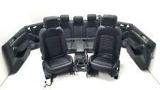 Original VW Passat B8 variant Innenausstattung Ausstattung Sitze Leder schwarz