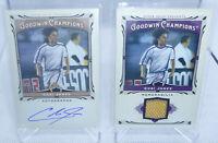 2013 Goodwin Champions Cobi Jones Autograph Match Used Relic Card Lot LA Galaxy