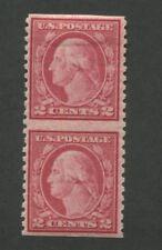 1919 Stamp #540a Mint Hinged Very Fine Original Gum Vertical Pair