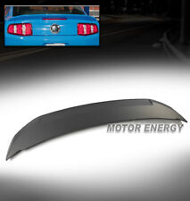FOR 10-14 FORD MUSTANG COUPE SHELBY GT500 STYLE ABS REAR TRUNK SPOILER PAINTABLE