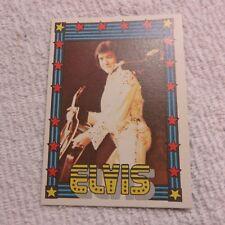 1978 Monty Gum - ELVIS PRESLEY - Club Card From Holland - (Blank Back) - Card 50