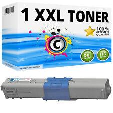 1x XL TONER CYAN für OKI MC351DN MC352DN MC361DN MC362DN MC561DN MC562DNW