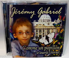 RARE YOUNG BOY CD SOLOIST SINGER * Jérémy Gabriel * comme un papillon {Jeremy}