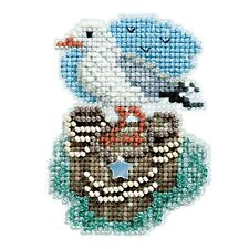 Seagull Bead Cross Stitch Kit Mill Hill 2017 Spring Bouquet MH181716