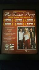 The Band Perry Grammy Awards Promo Poster Ad Framed! #2