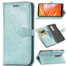 For Nokia 2.3/6.2/7.2 Magnetic Leather Flip Phone Card Poc Slot Stand Case Cover