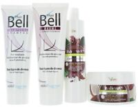 Hyaluronique Huile de Noix Coco Beurre Cacao Shampooing & Masque + Hairbell &