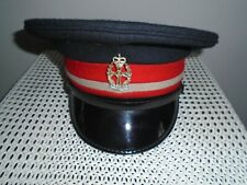 QUEEN ALEXANDRAS ROYAL ARMY NURSING CORPS MANS PEAKED CAP WITH BADGE SIZE 56CM