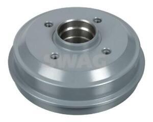 SWAG Brake Drum Rear 62 91 0537 fits Peugeot 206 1.4 i (55kw), 1.6 i (65kw)