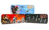 Disney Star Wars The Force Awakens Kylo Ren X-Wing Fighter Set of Tin Boxes