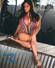 Wendy Fiore American Glamour Model Signed Photo #58A Exotic Photos Large Breasts