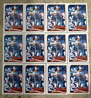 1989 - Topps #250 - Cal Ripken Orioles HOF - 12ct Card Lot