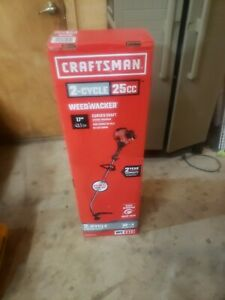 Craftsman 25cc 2 Cycle Curved Shaft Weed Wacker