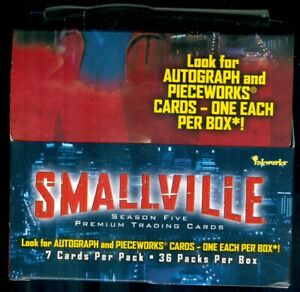 Smallville Season 5 OPENED Box of 36 Sealed Packs [No Autographs or Costumes]