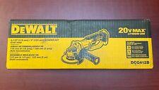 "Dewalt DCG412B 20V Cordless Angle Grinder 4 1/2"" 20 Volt MAX Cut-Off (Tool Only)"