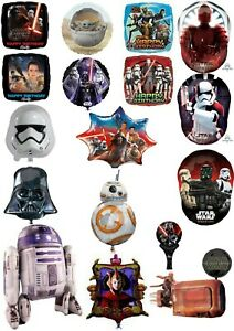 Star Wars Foil Helium & Air Balloons Party Ware Decoration Novelty Gift