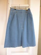 BNWT  Pure Collection blue denim skirt  size 8