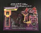 Transformers G1 Reissue Headmaster MINDWIPE Hasbro Figure Decepticon NEW
