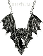 Restyle Bat Silver Emo Gothic Punk Rock Jewelry Accessory Necklace Pendant