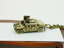 World of Tank miniature model Hummer HMMWV (Humvee) Bronze keychain handmade