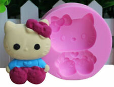 Hello Kitty Sitting Silicone Mold for Chocolate, Fondant, Gum Paste, Crafts NEW