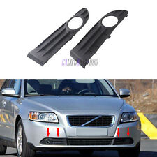 For VOLVO S40 2007-2012 New Pair Front Bumper Fog Light Grill Right +Left Side