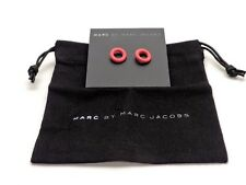 Marc by Marc Jacobs Rubber Doughnut Stud Earrings Pink New!