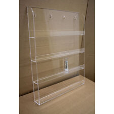 Wall Mounted Acrylic Nail Polish Display Stand Varnish Shop Retail 40 Bottles UK