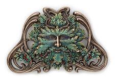 "New Green Man Winter Mistletoe Wall Plaque Home Decor 9.8""  L"