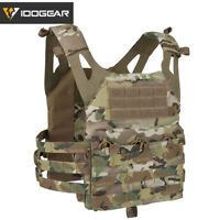 IDOGEAR JPC Tactical Vest Airsoft Protective Jumper Plate Carrier MOLLE Military