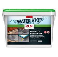MEM Water Stop 14 Kg // Universalabdichtung // Dichtmasse // Flexibel // Grau