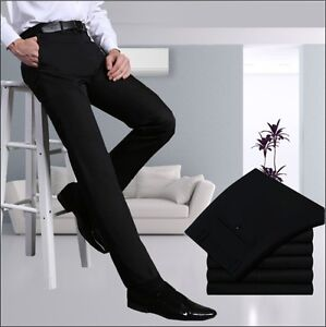 New Mens Fashion Casual/Formal Trousers/Pants Waist 29-40 Inner Fleece Coated