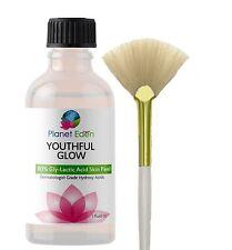 80% Gly-Lactic Glycolic & Lactic Acid Skin Peel - Fan Brush - Radiant Skin Duo!