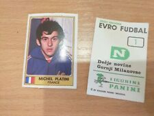 RARE Panini Euro Football 77 by DN. - pick your # or player from list