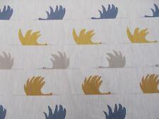 Harlequin/Scion Fabric 'COLIN CRANE' 0.75 METRES (75cm) Sulphur/Cinnamon/Ink