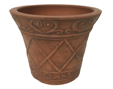 "Scroll Grower 5"" x 4"" Terra Cotta PSW Pot Eco-Friendly Weather Resistant Planter"