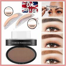 UK STOCK Eyebrow Shadow Definition Makeup Brow Stamp Powder Palette  C113