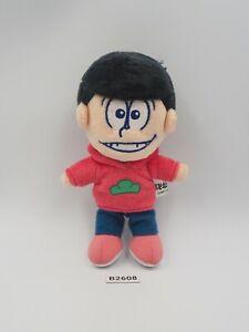 "Osomatsu San B2608 Matsuno Beanie Bandai Plush 5"" Stuffed Toy Doll Japan"