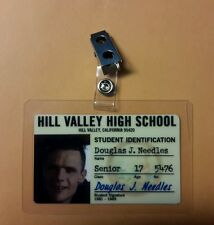Back To The Future ID Badge - Hill Valley Douglas Needles cosplay prop costume
