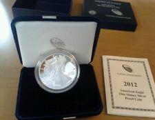 2012 U.S. Mint American Eagle Silver Proof Coin ww/gift box